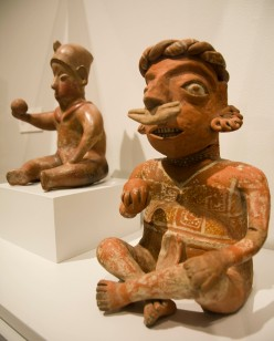 Ball Player Figurines. Image courtesy of the Gilcrease Museum.