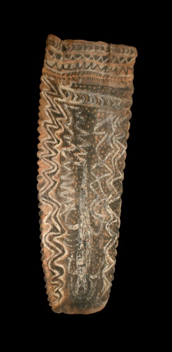 Australia, Aboriginal peoples, 20th century, Bark Painting, Wood and pigment, Gift of the Carl C. Ashby Trust, Museum # 2006.4.13