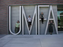Image of staff on the UMFA letters