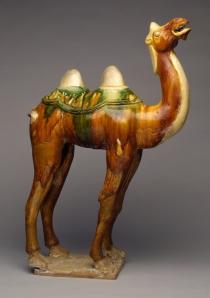 earthenware camel statue