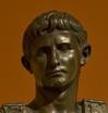 roman statue of Ceasar Augustus