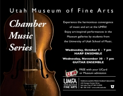 Chamber Music Series, October 5, 7 pm, Free with admission