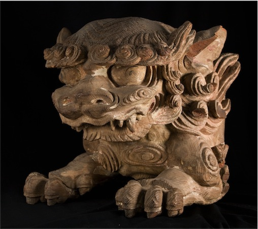 Japanese Guardian Temple Lion