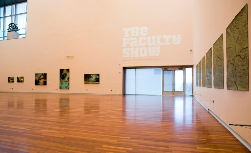 Image of The Faculty Show exhibition