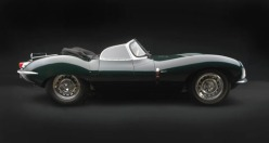 image of green convertable jaguar