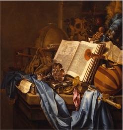 Memento Mori, Vincent Laurensz  van der Vinne