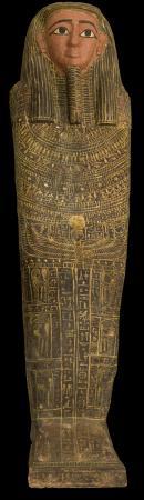 Anthropoid Sarcophagus, Twenty-sixth Dynasty, Egypt
