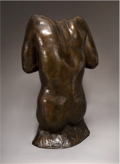 Female Torso V & A, Auguste Rodin, French, 1879.