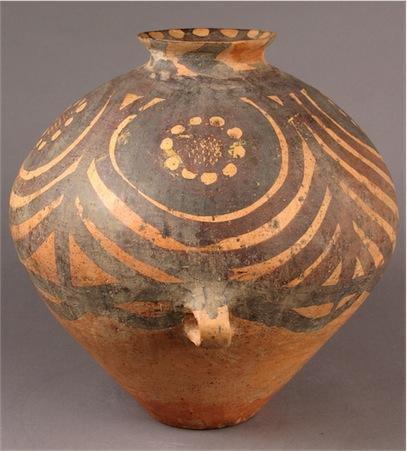 vase; neolithic;  4000BCE-1500BCE