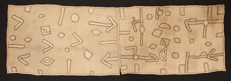 A textile of African origin