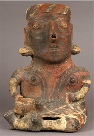 Father Figure; 300 BCE - 100 CE; Preclassic, Nayarit