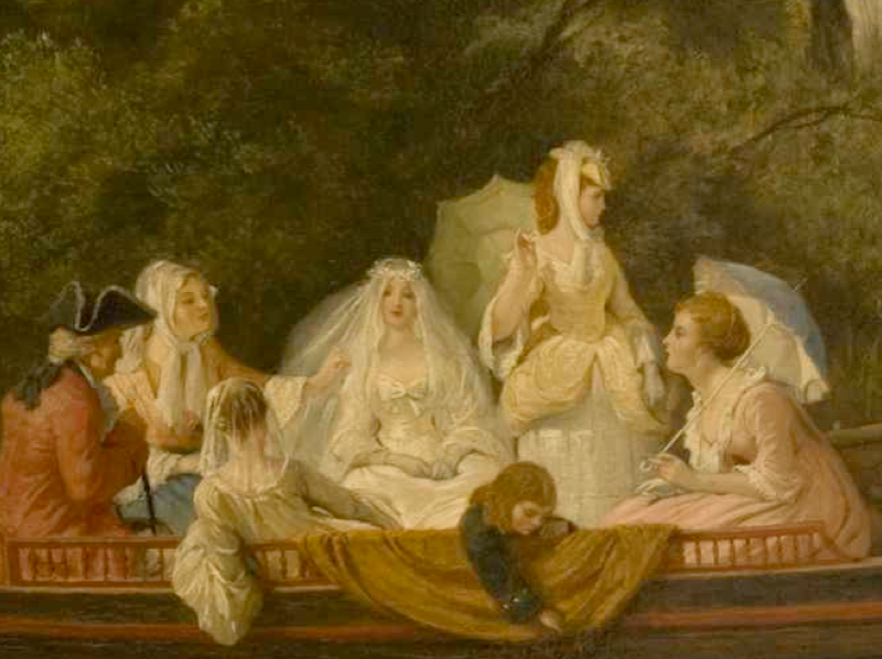 "detail: ""The Wedding Party"" by Richard Philip Morris"