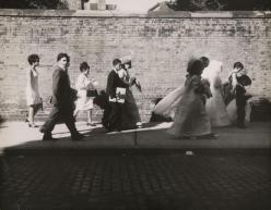 """Wedding Procession"" by Leon Levinstein. 1965"