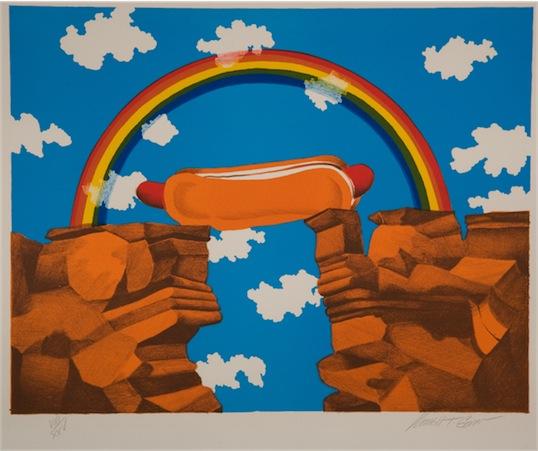 """Hot Dog Bridge."" Russell Talbert Gordon. 1974"
