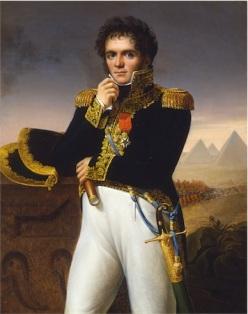 """""""Portrait of Jean-Louis Reynier."""" Jose Aparicio. Spanish. 1806"""