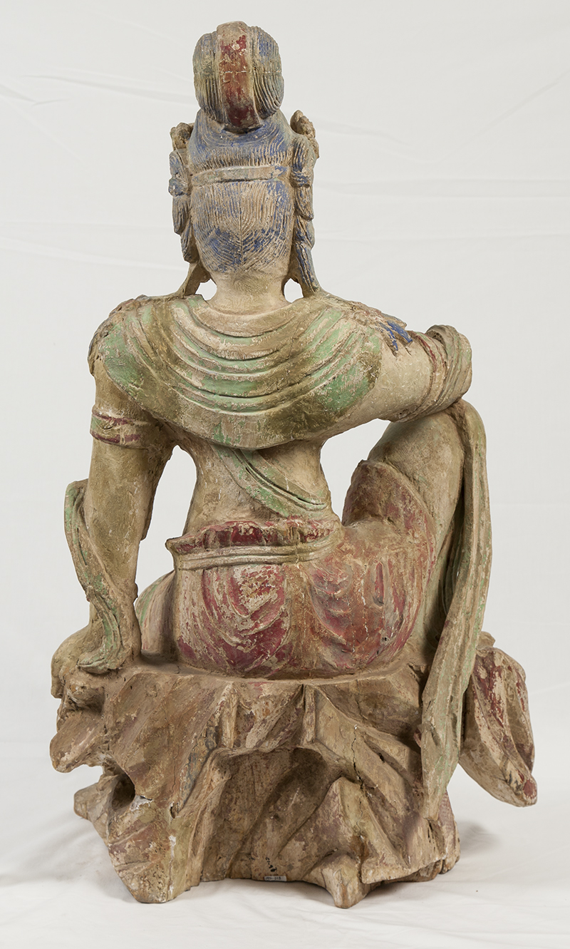 Kwan Yin, and her pre-treatment back