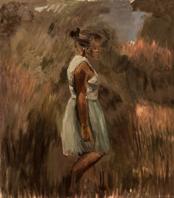 """Periphery"" by Lynette Yiadom-Boakye. Purchased with funds from the Phyllis Cannon Wattis Endowment for Modern and Contemporary Art"