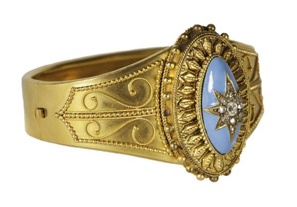 Bracelet. Gift of Mrs. J.P ( Virginia) Gibbons.