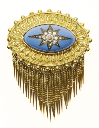 Brooch. Gift of Mrs. J.P ( Virginia) Gibbons