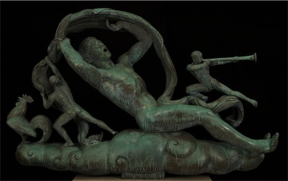 """The Moods of Time: Morning,"" by Paul Manship. 1938. Purchased with funds from the Marriner S. Eccles Foundation for the Marriner S. Eccles Collection of Masterworks"