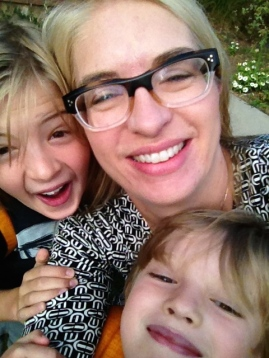 Gretchen Dietrich, Executive Director of the UMFA, seen here with her beautiful children.