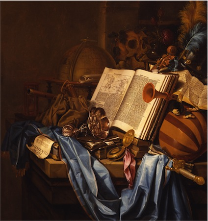 """Memento Mori,"" Vincent Laurensz van der Vinne. Dutch, 1656. Purchased with funds from the Marriner S. Eccles Foundation for the Marriner S. Eccles Collection of Masterworks."