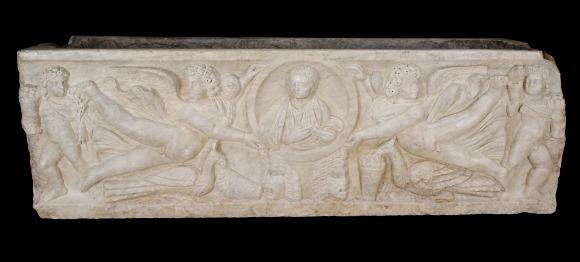 Season sarcophagus, Roman, circa 325 (Constantinian period). Purchased with funds from the Marriner S. Eccles Foundation for the Marriner S. Eccles Collection of Masterworks