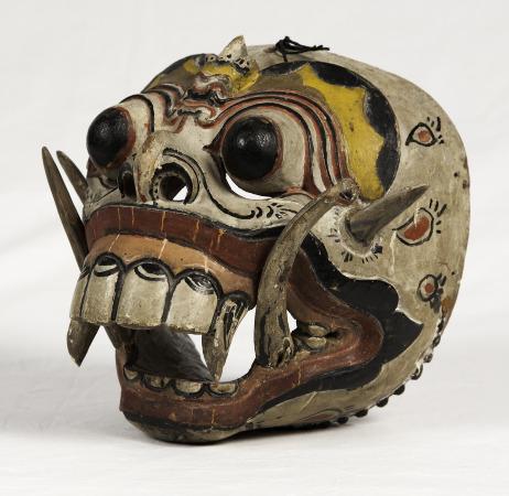 Barong Dance Mask. Bali.