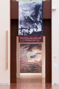 Creation and Erasure: Art of the Bingham Canyon Mine will be open May 30–September 28, 2014