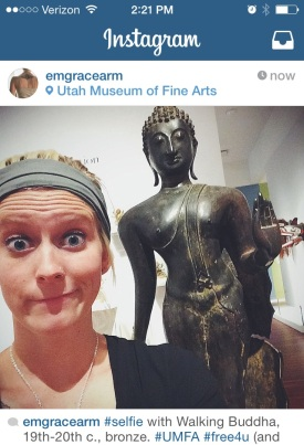 Emily, our PR & Marketing  assistant with Walking Buddha.