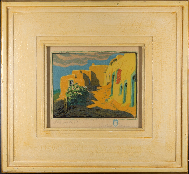 The UMFA Acquires Iconic Work by Southwestern Printmaker Gustave ...